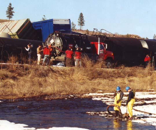 Railroads & Clearcuts - July 2001